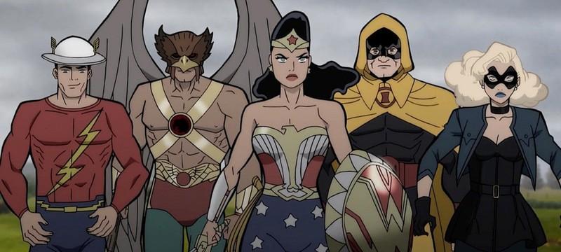 Супергерои против нацистов в трейлере мультфильма Justice Society: World War II