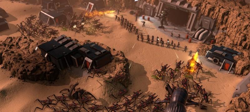 Новый геймплей стратегии Starship Troopers — Terran Command