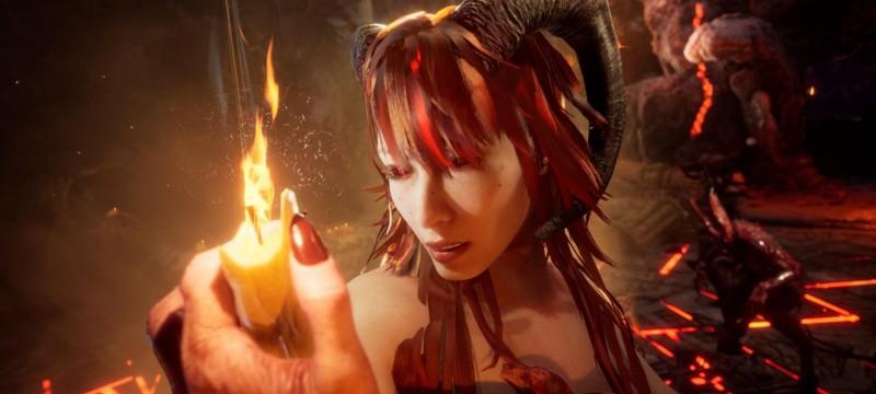 В новом трейлере Succubus показали кастомизацию главной героини и ее логова