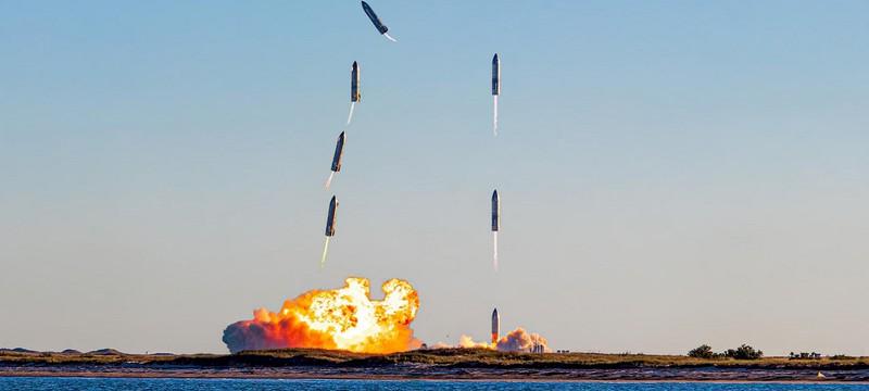 SpaceX показала взрыв прототипа Starship при неудачной посадке