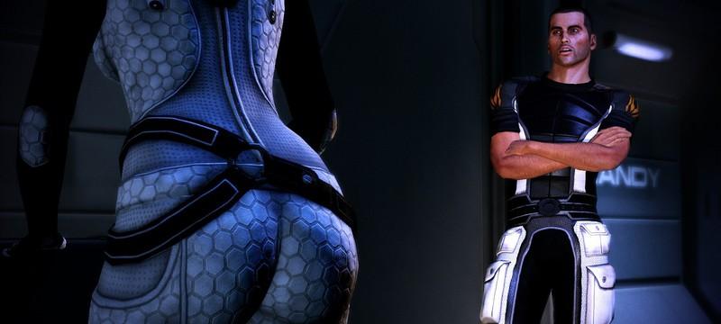 В Mass Effect: Legendary Edition изменили некоторые ракурсы камер