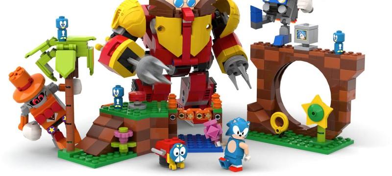 В новой подборке LEGO Ideas выбрали Соника и Ван Гога