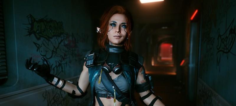 Моддер показал внешность женской версии Ви в Cyberpunk 2077, от которой все в восторге