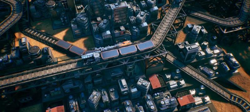 Железные дороги будущего в трейлере стратегии Railgrade