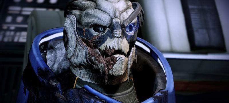 Первоначально BioWare не планировала делать Гарруса романтическим партнером в Mass Effect