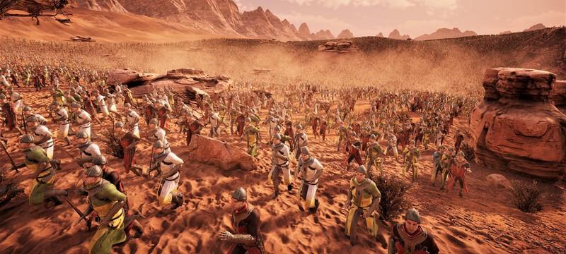 3 миллиона рыцарей против 250 тысяч лучников — геймплей Ultimate Epic Battle Simulator 2