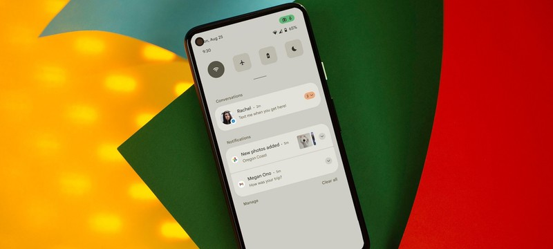 Утечка: Первые скриншоты Android 12