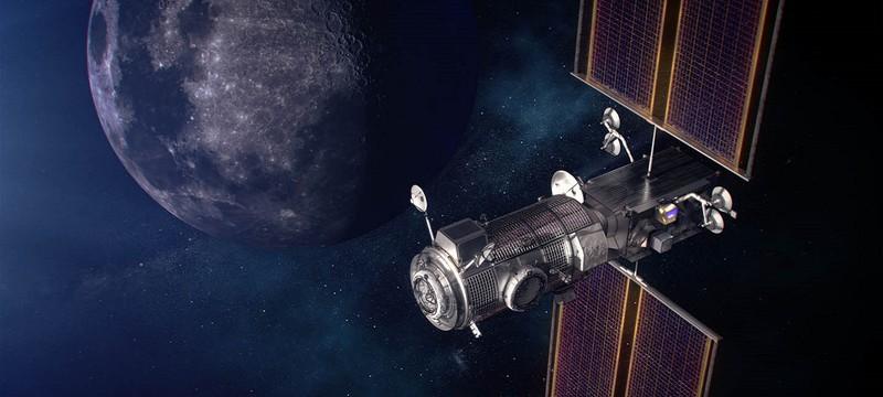 SpaceX доставит для NASA первые модули окололунной станции Gateway