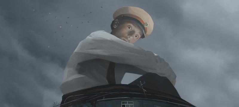 Новый трейлер Militsioner — симулятора беглеца от милиционера-великана
