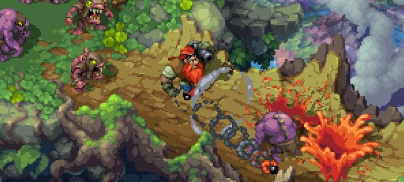 Яркий пиксельный экшен Battle Axe выйдет в апреле на всех платформах
