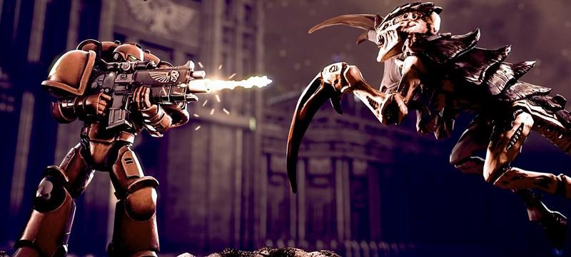20 минут геймплея пошаговой Warhammer 40K: Battlesector