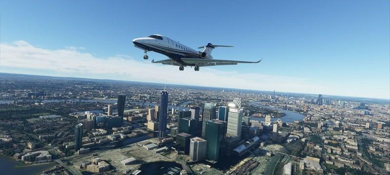 Microsoft Flight Simulator получила обновление с Великобританией и Ирландией