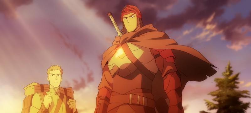 Тизер аниме-сериала по DOTA от Netflix