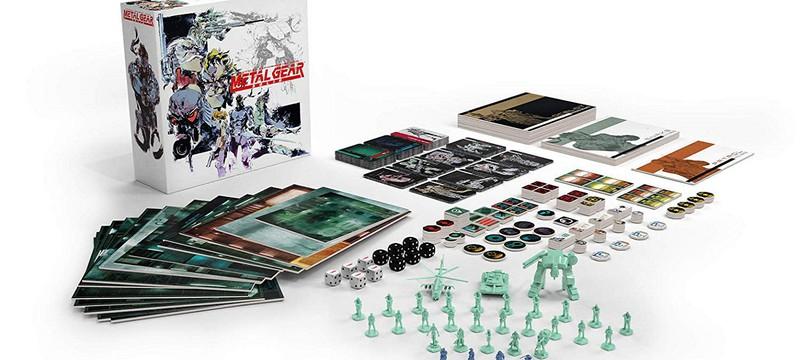 Настолка по Metal Gear Solid лишилась издателя и оказалась под угрозой отмены