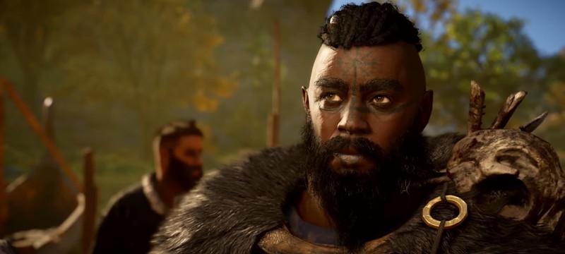 Чернокожий викинг и речные набеги в трейлере бесплатного апдейта Assassin's Creed Valhalla
