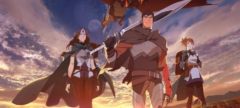 """Новый тизер сериала """"DOTA: Кровь дракона"""" от Netflix и Valve"""