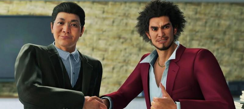 Релизный трейлер Yakuza: Like a Dragon на PS5
