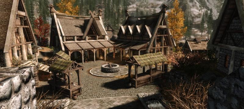 В Valheim строят Вайтран из Skyrim