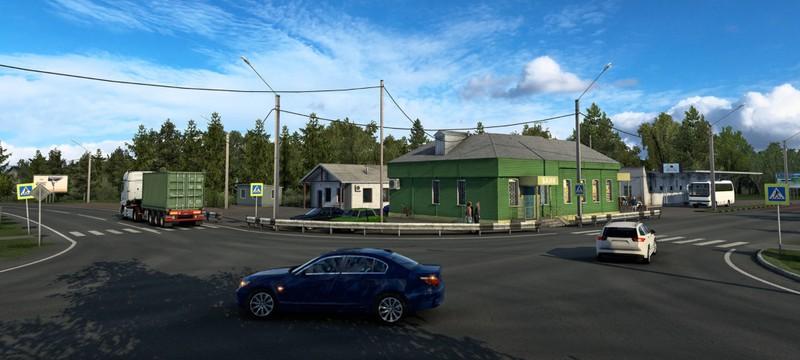 """Для Euro Truck Simulator 2 анонсировано дополнение """"Сердце России"""""""