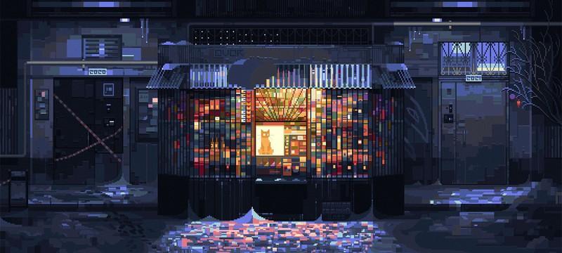 Пиксель-арт с запахом антресолей от 6VCR