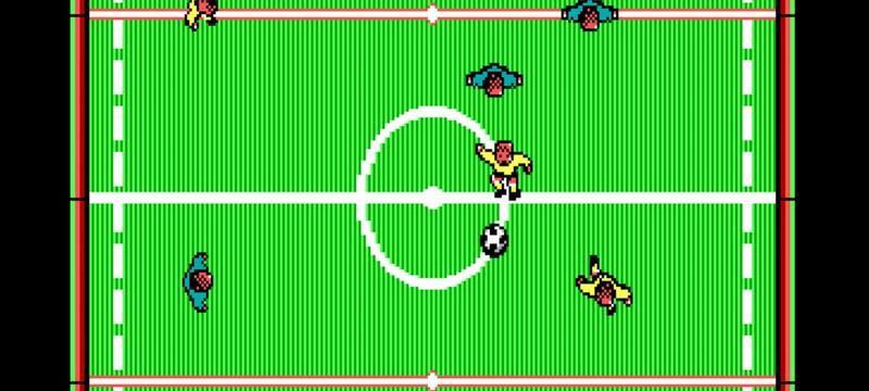 В Steam выпустили футбольный симулятор 1988 года