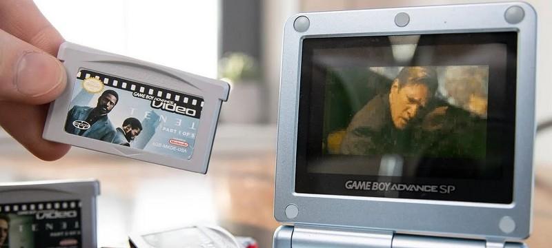 """Довод"" Кристофера Нолана воспроизвели на Game Boy Advance"