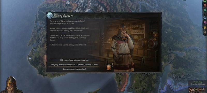 Первое DLC Crusader Kings 3 посвящено Викингам и выйдет 16 марта