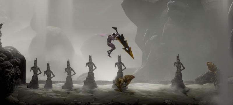 Бесформенная пустыня в новом геймплее экшена GRIME
