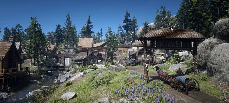 """Игроки Red Dead Redemption 2 считают Строберри идеальным городком для """"пенсии"""""""