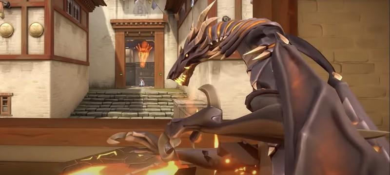 Хайп вокруг Valorant ослаб, но игроки все еще вспоминают скин для автомата в виде анимированного дракона