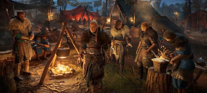 Ubisoft отключила новый контент Assassin's Creed: Valhalla из-за багов