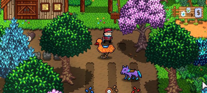 Синтез Stardew Valley и Pokemon в трейлере пиксельной Monster Harvest