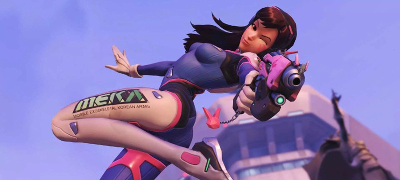 D.Va — самый популярный персонаж Overwatch среди профессиональных игроков