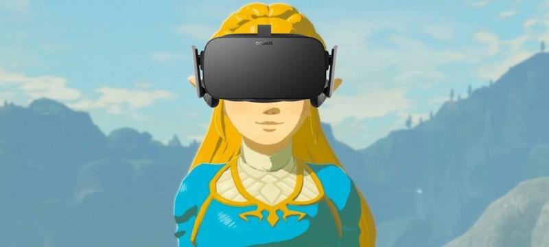 Вот как выглядит VR-версия Breath Of The Wild