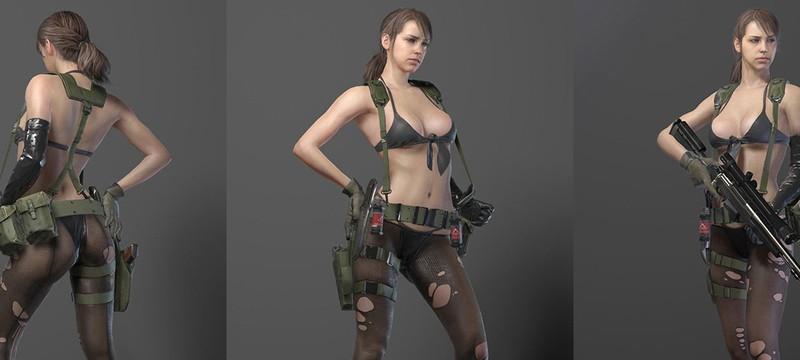"""Дизайнер Halo 4 называл внешний вид Quiet из MGS 5 """"отвратительным"""""""