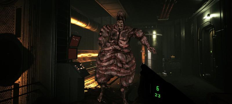 Перестрелки с мерзкими монстрами и передвижение на транспорте в геймплее шутера Quantum Error