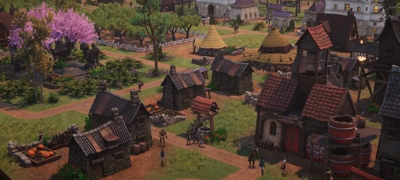 Пасторальная фэнтезийная деревушка в первом трейлере градостроительной стратегии Distant Kingdoms