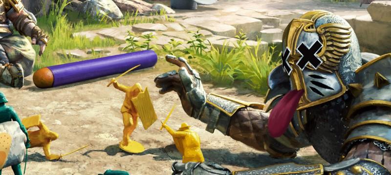 На 1 апреля в For Honor начались сражения игрушек