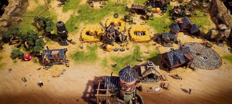 Управление с помощью игральных костей в трейлере сурвайвал-стратегии Dice Legacy