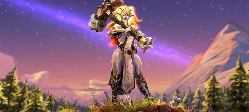 В Dota 2 добавили нового героя — воительницу Dawnbreaker
