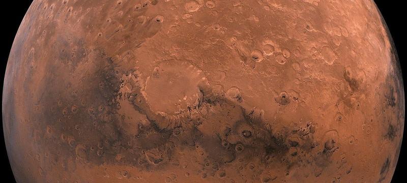 NASA представило фотографию голубых дюн Марса