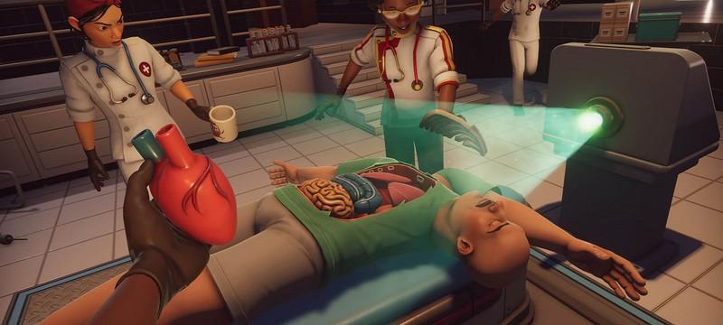 Безумный симулятор хирурга Surgeon Simulator 2 выйдет в Steam