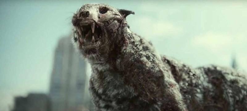 """Встреча с зомби-тигром и члены команды в отрывках из """"Армии мертвецов"""""""