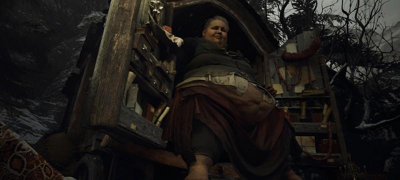 Герцогу из Resident Evil Village не страшны гранаты и мины — он над ними смеется
