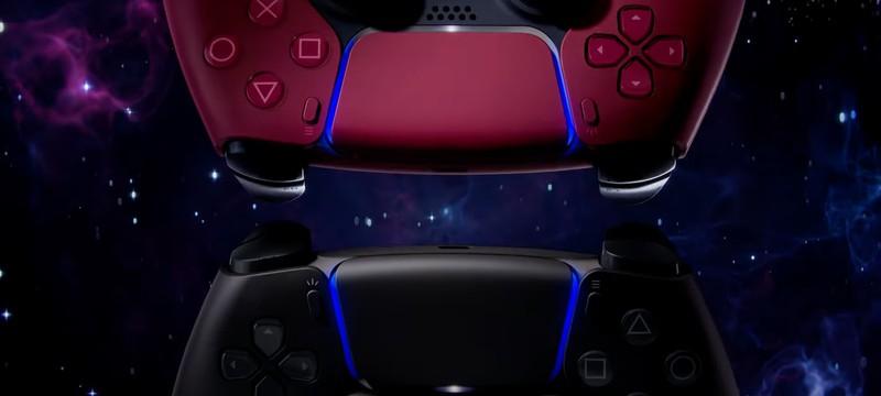 PlayStation показала новые DualSense — космический красный и полуночный черный