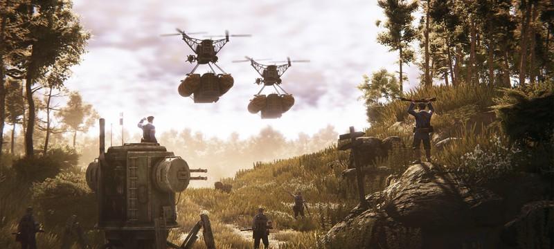 Война в пустыне — релизный трейлер дополнения Iron Harvest: Operation Eagle