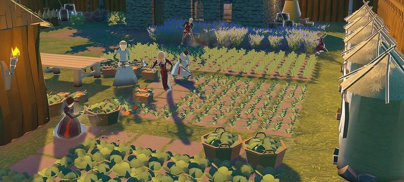 Средневековая замкостроительная стратегия Going Medieval вышла в раннем доступе Steam