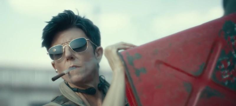 """Виртуальный Лас-Вегас и появление героини Тиг Натаро в роликах о создании спецэффектов """"Армии мертвецов"""""""