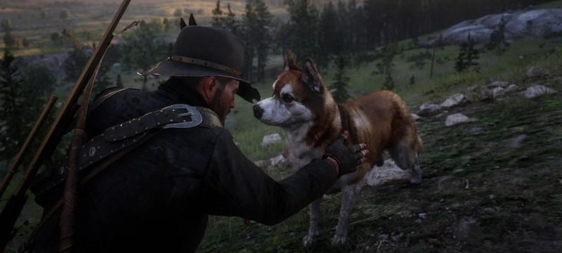 Для Red Dead Redemption 2 вышел мод, позволяющий завести песика-помощника