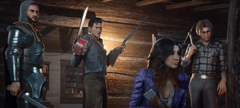 Брутальный геймплейный трейлер Evil Dead: The Game
